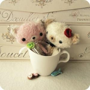 Mohair Animals - Bunny, Bear, Puppy..