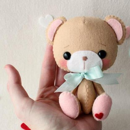 Li'l Sweetheart Bear pdf Pattern