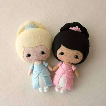 Fairy Tale Dolls pdf Patterns - You..